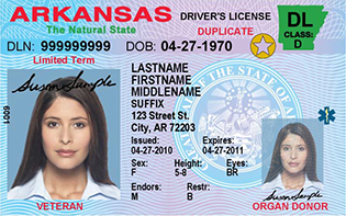 Over 21 Compliant Driver License