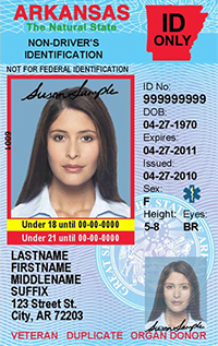 Under 21 Non-Compliant ID