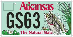 Specialty plates department of finance and administration for Arkansas game and fish license
