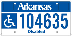 Persons With Disabilities License Plate | Department of Finance and