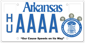 Phi Beta Sigma Fraternity License Plate